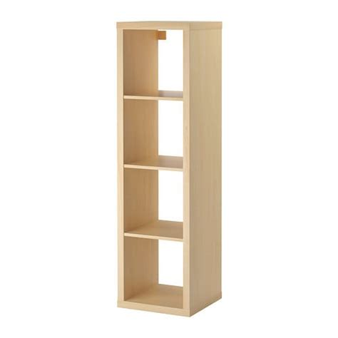ikea kallax bookcase kallax shelving unit birch effect ikea