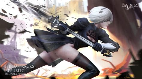 Nier Automata Animated Wallpaper - nier automata sword animated wallpaper for windows 3dlwp