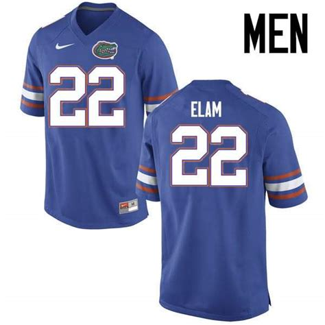 Men's Florida Gators #22 Matt Elam Blue Nike NCAA College ...