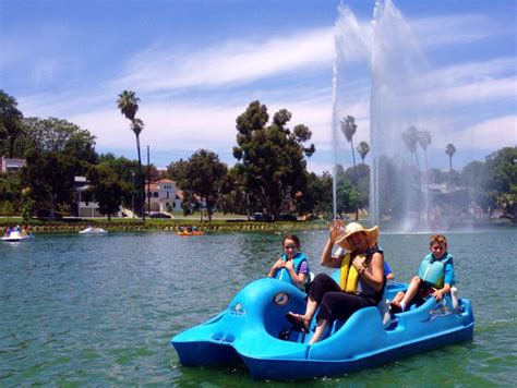 Paddle Boats Lake Balboa by The Guide To Los Angeles Parks Discover Los Angeles