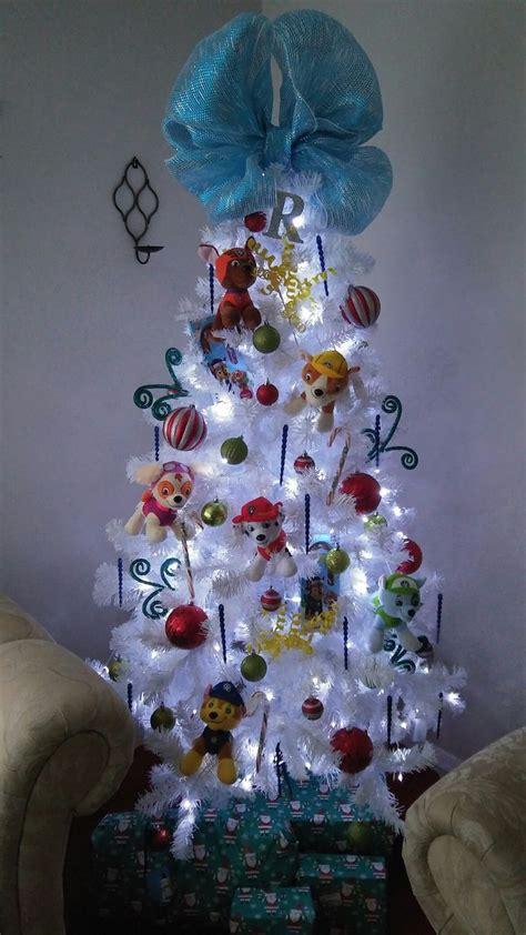 paw patrol christmas tree mellys personal stuff