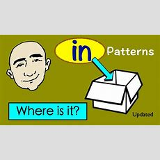 In  Where Is It?  Question Patterns  English Speaking Practice  Esl  Efl Youtube