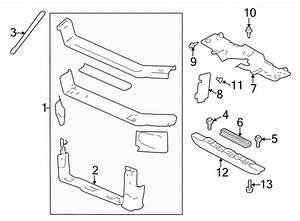 Chevrolet Impala Radiator Support Air Deflector  Front