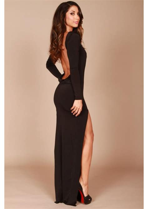 Best 25 Long Sleeve Backless Dress Ideas On Pinterest