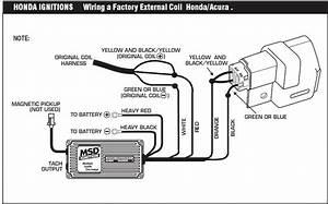 Diy  Msd 6 Series Install - Honda-tech