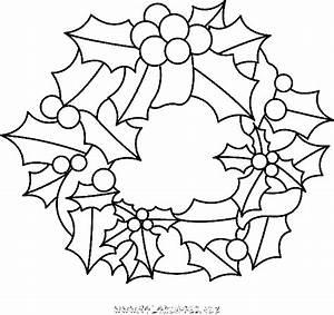 Couronne En Papier à Imprimer : coloriage couronnes de noel gratuit 9362 noel ~ Melissatoandfro.com Idées de Décoration