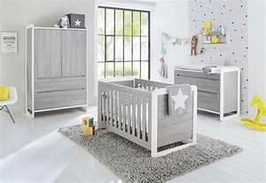 Babyzimmer Weiß Grau : pinolino babyzimmer set curve breit 3 tlg otto ~ Frokenaadalensverden.com Haus und Dekorationen