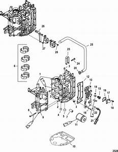Mercury Marine 30 Hp Carburetor  3 Cylinder   4
