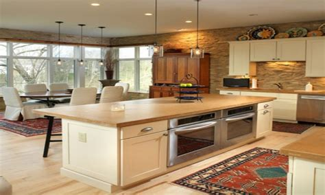 Kitchen Oven Island by Island Stoves And Ovens Kitchen With Two Side By Built Ideas