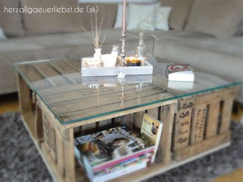 Tisch Aus Palettenholz by Weinkisten Tisch Kaufen Couchtisch Holztisch Und