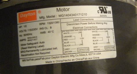 Wiring Diagram For Dayton Electric Motor Impremedia