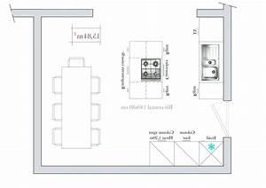 Dimension Plan De Travail : plan de travail pour ilot central prparez les lments de ~ Melissatoandfro.com Idées de Décoration
