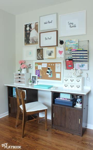 Office Desk + Gallery Wall Reveal  Diy Playbook