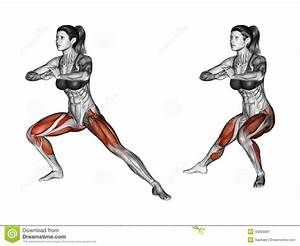 Side Lunge Exercise Clip Art – Cliparts