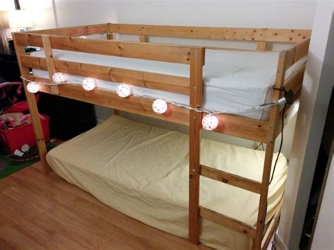 Ikea Le Astrid by Transformation D Un Lit Superpos 233 Mydal En Lit Mezzanine