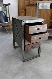 Vintage Industrial Möbel : eisenkasten industrial m bel antik ~ Markanthonyermac.com Haus und Dekorationen