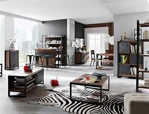 Möbel Industrial Style : wohnzimmer industrial style ~ Indierocktalk.com Haus und Dekorationen