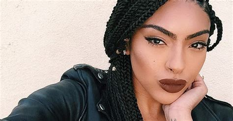 Black Hairstyles Braids by Black Braided Hairstyles With Extensions Popsugar