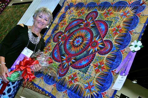 'arandano' Is The Winner Of The 2016 Aqs Quilt Show