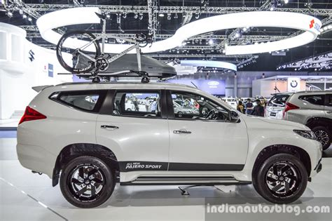 pajero jeep 2016 2016 mitsubishi pajero sport side white at 2016 bimc