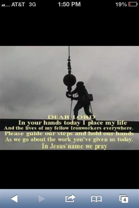riggers prayer crane operator girls world