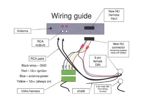 Aftermarket Radio Factory Amp Wiring Help Volvo