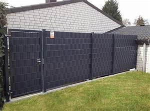 Zaun Metall Anthrazit : sichtschutz sichtblenden zaun serien und tore aus holz wpc kunststoff und metall ~ Orissabook.com Haus und Dekorationen