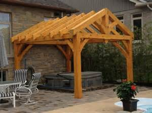 Timber Frame Pergola Plans