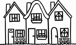 HD wallpapers apartment building coloring pages ...