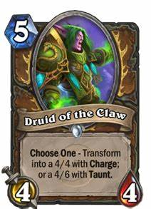Druid Of The Claw Hearthstone Cards