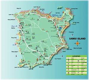 Samui Tourist Map - Samui Thailand • mappery