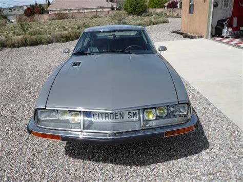 Citroen Sm For Sale Usa by 1974 Citroen Sm Fuel Injected