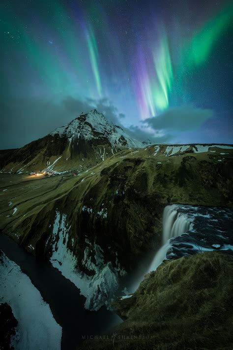 Iceland Aurora Photography Aerial Photography And Landscapes