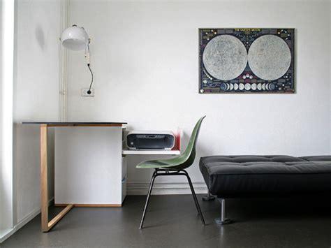 Compact, Minimalist Desk