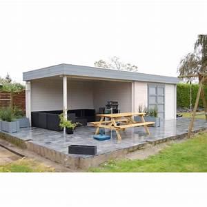 Pool House Toit Plat : mimas 700 abris pool house en bois chalet center ~ Melissatoandfro.com Idées de Décoration