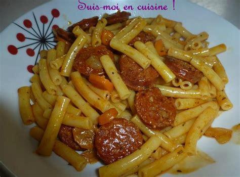 pate a la portugaise macaronis au chorizo quot massa chouri 231 o quot suis moi en cuisine