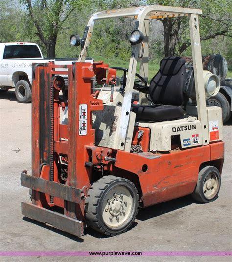 Datsun Forklift by Nissan Datsun 4000 Forklift No Reserve Auction On