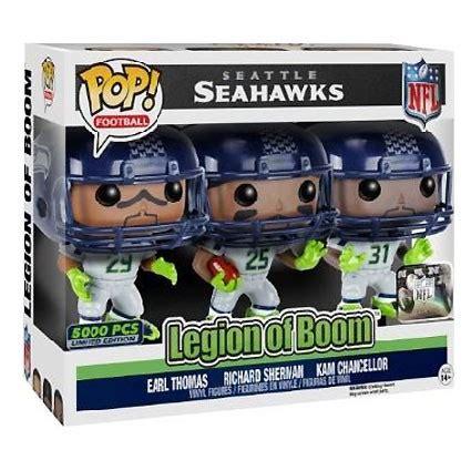 toys pop nfl seattle seahawks legion  boom limited