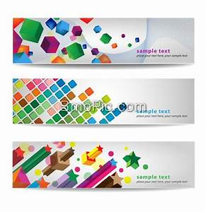 102 Smopic Com 3 Colorful Creative Website Banner