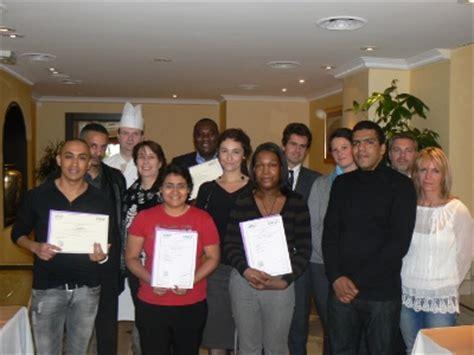 afpa stains formation cuisine remise du certificat de qualification professionnelle