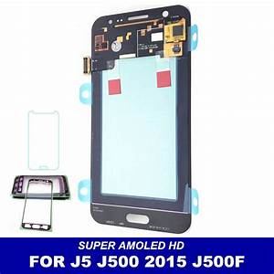 100  Tested Amoled Lcd For Samsung Galaxy J5 2015 J500f