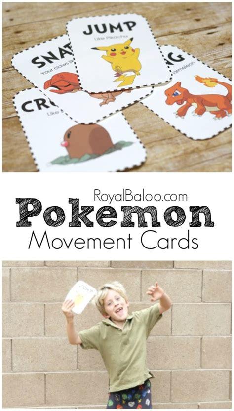 pokemon movement cards   wiggles  royal baloo