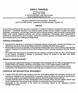 federal resume template template business With federal resume template