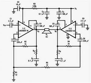 Lm2005 20 Watt Automotive Power Amplifier