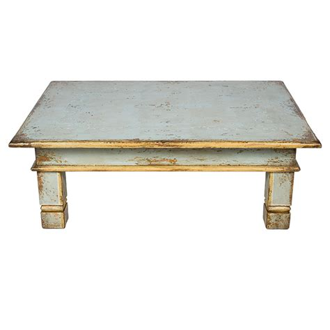 coffee table distressed coffee tables white light blue