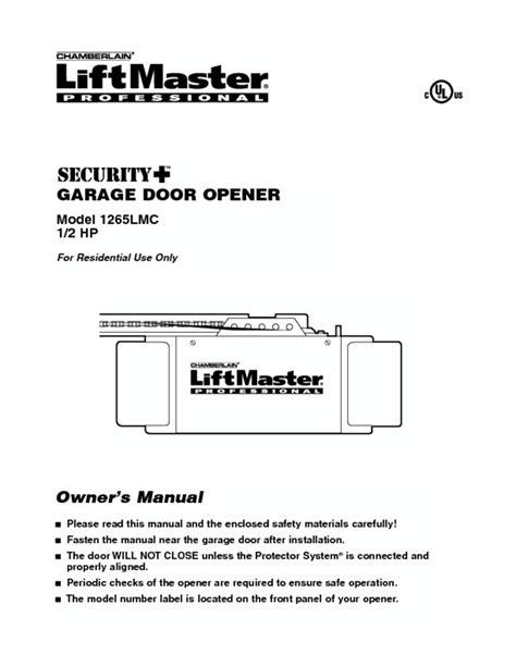 access master garage door opener manual garage door opener users guides quot garage door opener
