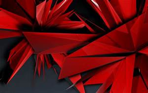 HD Red Abstract Wallpapers