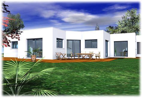 constructions toit plat plain pied rt 2012 espace immo haute normandie 76 nos constructions