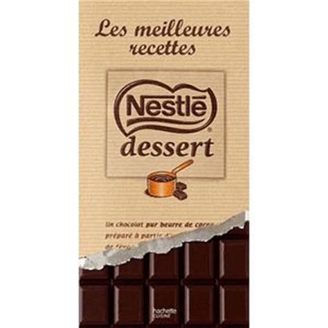 recettes cuisine pas cher chocolat noir nestle dessert comparez vos chocolats