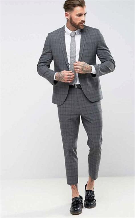 moderne manieren om een pak te dragen man man